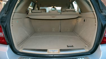 Used Mercedes M-Class - boot