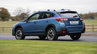 Subaru XV - rear cornering