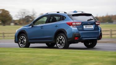 Subaru XV - rear cornering