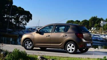 Dacia Sandero 2017 facelift side