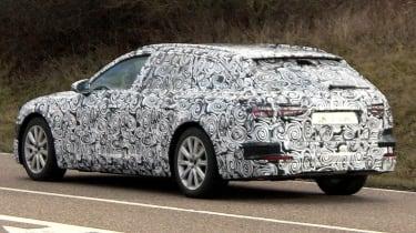Audi A6 Avant spies rear side