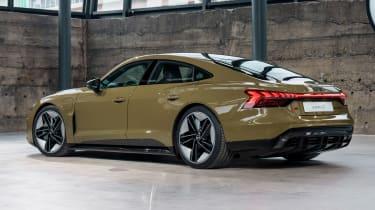 Audi e-tron GT - brown rear