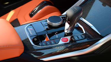 BMW M4 Competition - transmission