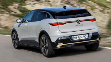 Renault Megane E-Tech Electric SUV - rear action