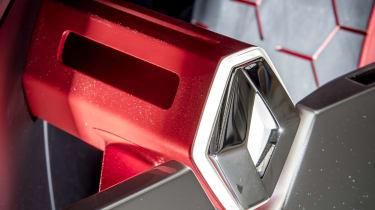 Renault Trezor concept badge