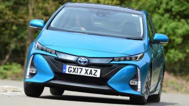 Toyota Prius Plug-in - front cornering