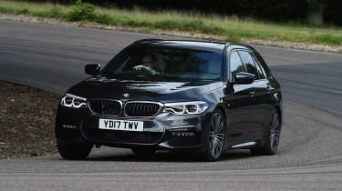 BMW 5 Series Touring - front cornering