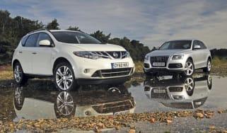 Nissan Murano vs. Audi Q5