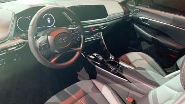 Hyundai Sonata - New York dash