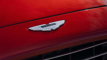 Aston Martin DBX - Aston Martin badge