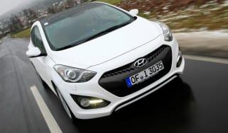 Hyundai i30 3dr front action