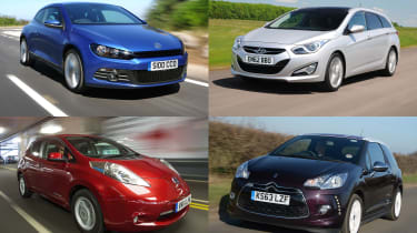 Best cars for under £10,000