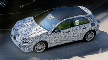 Mercedes A-Class spy shot - side