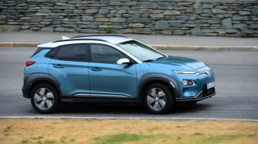 Hyundai Kona Electric - side