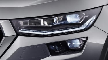 Skoda Kodiaq facelift - front lights