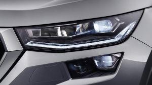 Skoda Kodiaq facelift - front lights