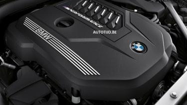 New BMW Z4 engine bay
