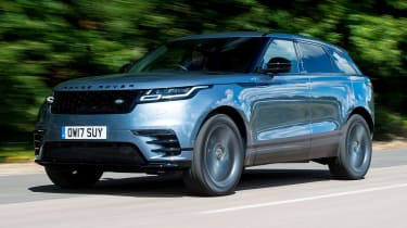 Used Range Rover Velar - front action