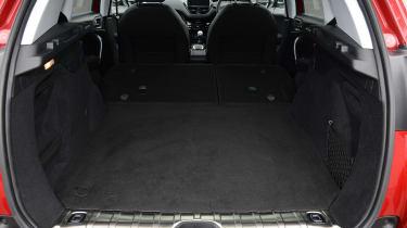 Peugeot 2008 - boot seats down