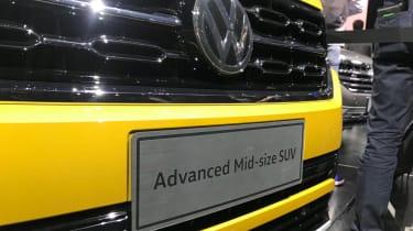 Volkswagen Advanced SUV front bumper