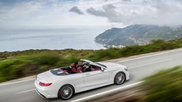 Mercedes S-Class Cabriolet 10