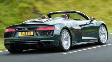 Audi R8 Spyder V10 plus - rear