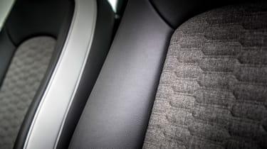 Renault ZOE - seat detail