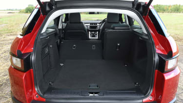 Range Rover Evoque SE Tech 2016 - boot