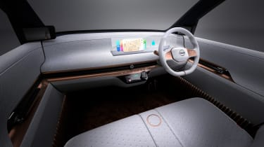 Nissan IMk concept - interior