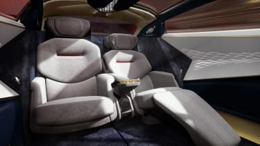 Aston Martin Lagonda Vision concept - rear seats reclined
