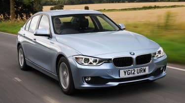 BMW 3 Series  front action