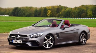 Mercedes SL 400 - front static