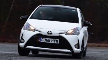Toyota Yaris GR Sport - front action