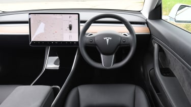 Tesla Model 3 - dash