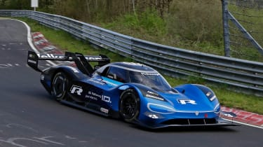 Volkswagen ID. R - Nurburgring front action