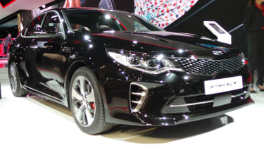 New Kia Optima GT static