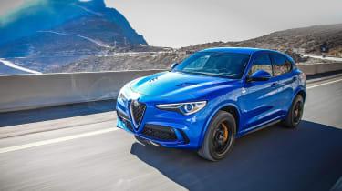 Alfa Romeo Stelvio Quadrifoglio  -