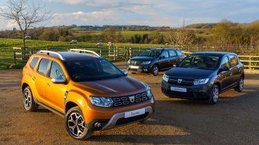 Dacia Bi-Fuel cars