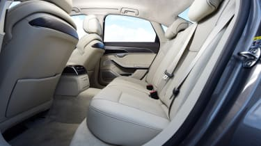 New Audi A8 2017 - rear seats