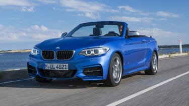 BMW 2 Series Convertible - tracking