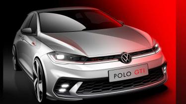 Volkswagen Polo GTI sketch