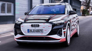 Audi Q4 e-tron prototype - front