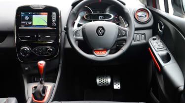 Clio IV RS - dash
