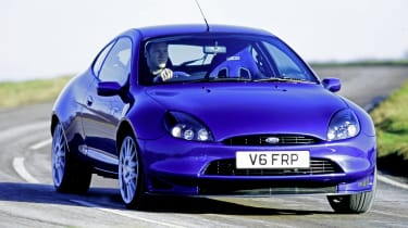 Ford Puma icon review - racing front