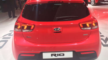 New Kia Rio revealed in Paris 2016 rear