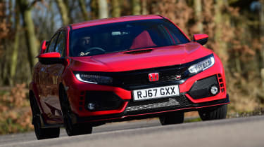 Honda Civic Type R long-term test review - front