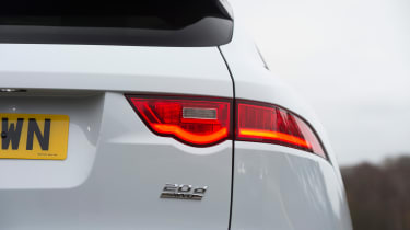 Jaguar F-Pace - taillight