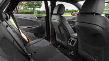 Hyundai Tucson N Line - rear seats