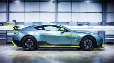 Aston Martin Vantage GT8 - side