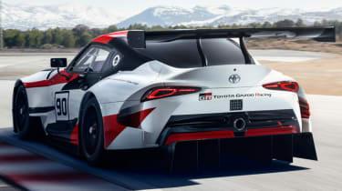 Toyota GR Supra concept lap
